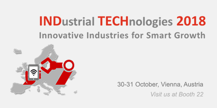 Industrial Technologies 2018 - Innovative Industries for Smart Growth